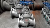 Válvula de globo ensanchada estándar de la carrocería de Wcb del final del estruendo Pn25