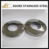 Barandilla de acero inoxidable cubierta de placa base de montaje de la barandilla
