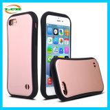 Dünne Taillen-bequemer Handgefühls-Silikon-Kasten für iPhone7 plus