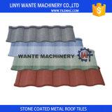 Tuiles de toit enduites en métal de toiture de la Chine de pierre favorable à l'environnement de feuilles