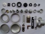 Präzisions-Aluminium/weißes Puder-Beschichtung-Messingzink galvanisiert Prägedruck-Teile