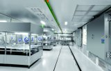 (L tipo) linha de produção da Lavar-Secagem-Encher-Selagem da ampola 400bpm