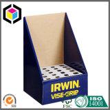 Caja de presentación negra brillante del estallido del papel de la cartulina del color