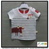 귀여운 인쇄 아기는 신생 여자 아기 t-셔츠를 입는다
