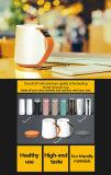 Tasse en céramique de bureau de porcelaine de tasses d'os de Chine de vente en gros fine de tasse