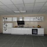 Het moderne Meubilair van de Keukenkasten van de Lak met Ontwerp Customed