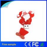 Выдвиженческий привод вспышки USB Santa Claus рождества подарка