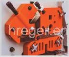Q35y-30 Ironworker hidráulico, máquina de estaca, máquina de perfuração, máquina de corte de perfuração do universal