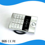 Sistema elegante do controle de acesso da porta RFID do teclado do controle de acesso do toque IP66 do projeto