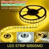 Tira dobro do diodo emissor de luz da fileira SMD 5050 120LEDs/M