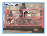 Plataforma suspendida cuerda segura para la construcción