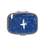 Décoration Belle Médecine Souvenir Un jour Mini casse-boîte à comprimé