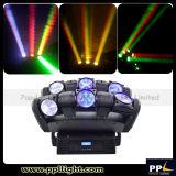 luz principal móvil giratoria infinita de la viga de 6X12W 6heads LED