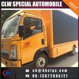 Veicolo mobile dello schermo del cino di Scrolling camion chiaro LED del tabellone per le affissioni