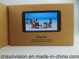 """PUの革7 """" IPSスクリーンLCD音楽カードのビデオパンフレット"""