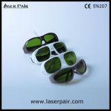 IPLのためのIPL安全ガラスのゴーグルの調節可能なフレーム36は200-1400nmを機械で造る