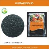Super Kalium Humate van de Meststof van het Gebruik van de landbouw het Organische (het in water oplosbare vaste lichaam van 100%)