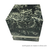 堅いふたかベースはペーパー香水のギフト用の箱の蝋燭のギフト用の箱のスタイルを作った