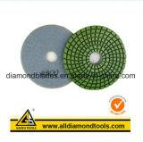 Almofada de polonês do diamante de 5 etapas para o concreto