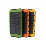 заряжатель Powerbank USB крена солнечной силы 10000mAh двойной всеобщий солнечный