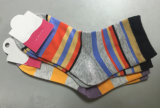 Носки Breathable мягкого хлопка нашивки женщин вскользь