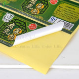 Стикеры ярлыка бумаги изготовления для еды, чая, одежды (KG-PT010)