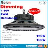 La garantie IP65 de 5 ans imperméabilisent la résistance de 1-10V PWM obscurcissant 160W les garnitures élevées de lumière de compartiment de Dimmable DEL de 150 watts