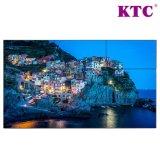 55 стена дюйма 3.7mm Samsung LCD видео- с узким шатоном