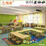 Hölzernes Material und Schulmöbel, die Kind-Möbel, die in China hergestellt wurden, stellten Typen freie Kindertagesstätte-Möbel ein