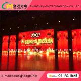 Konzert-Einstellungs-Wand, LED-Bildschirm, Miet-LED-Bildschirmanzeige, P4.81, USD580/M2