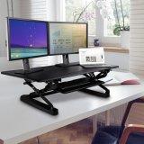 """Loctek 조정가능한 서 있는 책상 - 47 """" 넓은 플래트홈은 위로 서 있다 책상 라이저를, 앉 서 있다 워크 스테이션 (MT101L)를"""