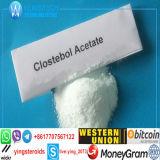 Acetato esteroide de Clostebol de la hormona anabólica sin procesar para el Bodybuilding