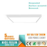 Oberfläche eingehangenes Panel der LED-Leuchte-60*60/30*120/60*120cm LED