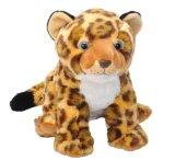 Giocattolo della peluche del leopardo farcito abitudine