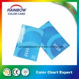 محترفة عالة طلية طباعة لون بطاقة