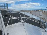 Cubiertas del tanque del nido de abeja del aluminio y techos flotantes del tanque