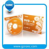 El espacio en blanco imprimible/No-Imprimible DVD-R pila de discos en rectángulo de joya delgado de 5.2m m