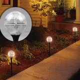 Outdoor LED Garden Solar Light Amber Cat Décoration