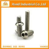 Tornillo de la pista del botón del acero inoxidable ISO7380