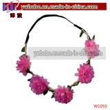 人工絹の花の黄色のヒマワリの花輪最もよい党製品(W1029)