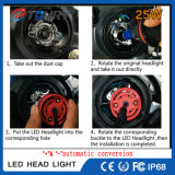 фара автомобиля голубого красного цвета СИД нового автоматического Headlamp 25W белая