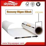 da taxa de transferência elevada da largura de 90GSM 1320mm papel de transferência do Sublimation para a impressão de matéria têxtil de Digitas