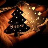 Wit van het Koord van de Fee van de Kerstboom van het metaal het Lichte Warme voor Kerstmis