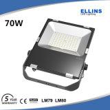 5 anni della garanzia di alta qualità 70W LED di indicatore luminoso di inondazione