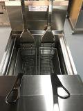 Alzare elettricamente la friggitrice aperta/friggitrice aperta di Kfc/la friggitrice aperta patata elettrica/friggitrice profonda della General Electric