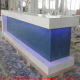 Onyx Marble Restaurant Bar Top for Sale Checkout Counter Cashier Counter for Restaurant