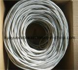 Câble d'ordinateur de câble du câble UTP de transmission de réseau du câble LAN Utpcat6 CCA/Cu/Cable