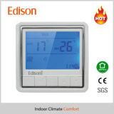 Термостат комнаты топления воды цифров