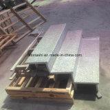 Hellgrauer Granit-volle Bullnose im Freientreppe tritt Schritt-Fliese Lowes mit Gleitschutz