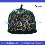 Шлем молитве турецкого шлема мусульманский, исламский шлем сделанный материалом шерстей 100% для человека